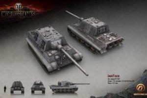 World of Tanks, Tank, Wargaming, JagdTiger