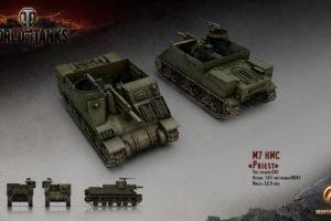 World of Tanks, Tank, Wargaming, M7 Priest