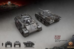 World of Tanks, Tank, Wargaming, VK 1602 Leopard