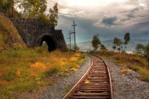 photography, Railroad track