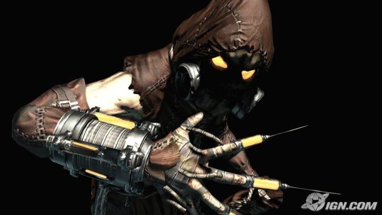 Scarecrow Character Batman Arkham Asylum Hd Wallpapers