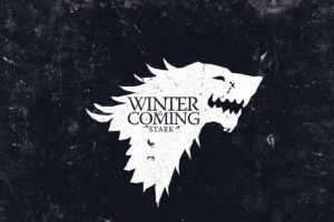 Game of Thrones, House Stark, Sigils, Winter Is Coming