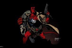 Hellboy, Comic art