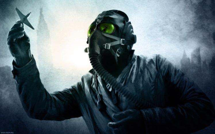 Romantically Apocalyptic Vitaly S Alexius Gas Masks Hd