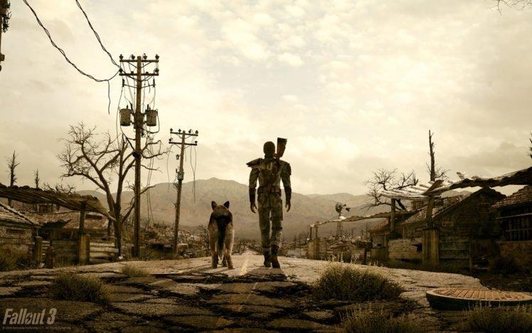 Fallout, Fallout 3 HD Wallpaper Desktop Background