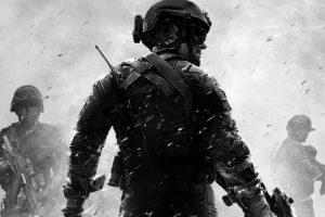 soldier, Machine gun
