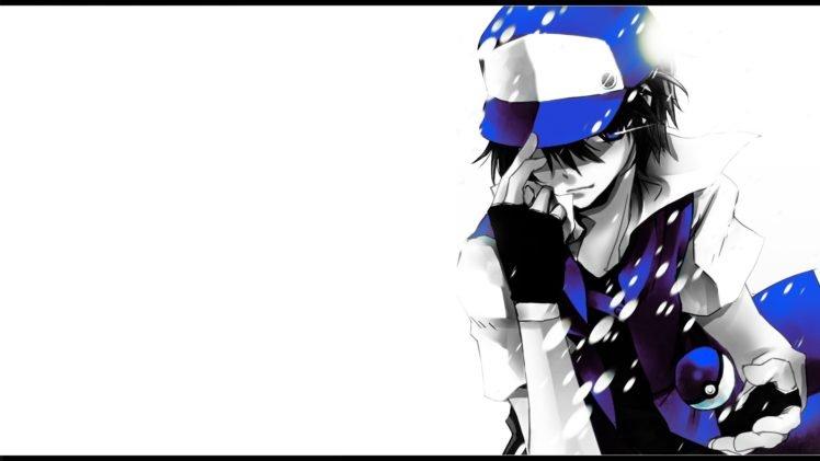 Pokemon, Red, Blue HD Wallpaper Desktop Background