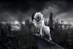Pokemon, Absol, Apocalyptic, Ruin
