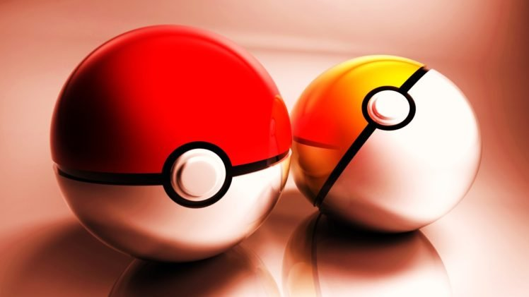 Pokéballs HD Wallpaper Desktop Background