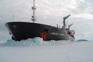 boat, Ice