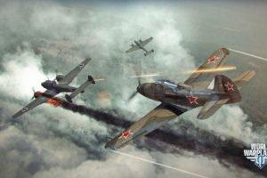 World of Warplanes, Warplanes, Wargaming, Airplane, Bell P 39 Airacobra, Messerschmitt Bf 110, Dogfight