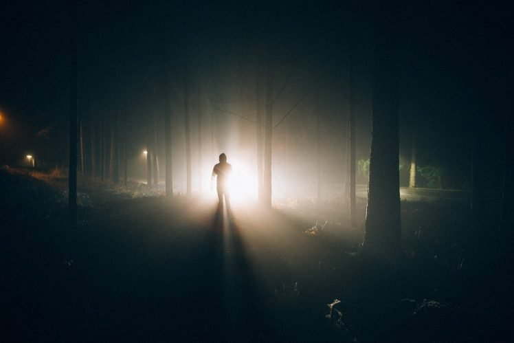 Alone In The Dark Lights Shadow Hd Wallpapers Desktop And