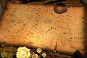 map, Runescape