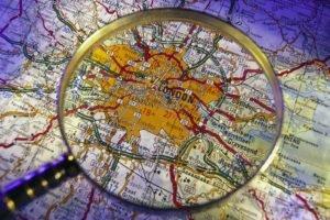 UK, London, Map