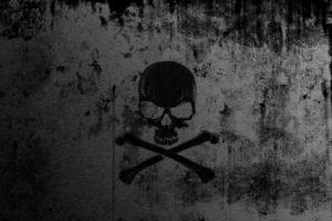 horror, Skull, Death