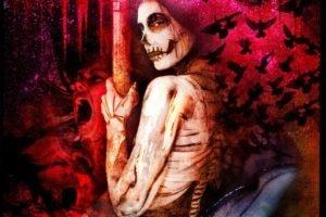 horror, Sugar Skull