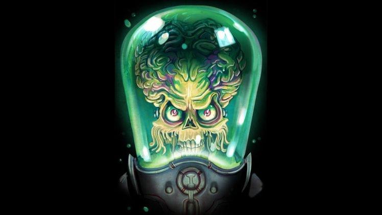 Tim Burton Mars Attacks Fan Art Hd Wallpapers Desktop