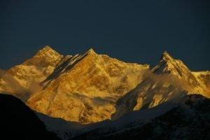 Himalayas, Mountain, Nepal, Temple
