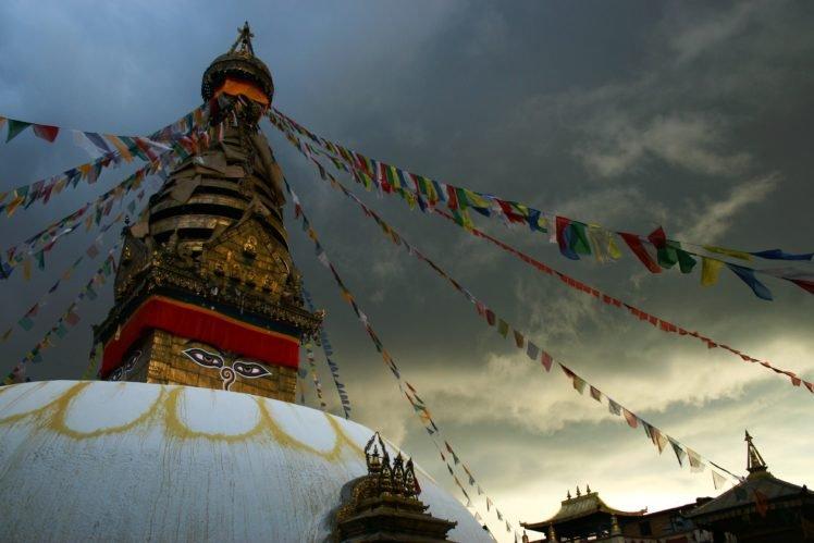 Nepal, Temple, Buddha HD Wallpaper Desktop Background