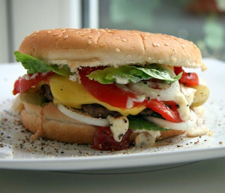 food, Burger HD Wallpaper Desktop Background