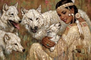 wolf, Native Americans, Cubs