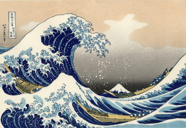 The Great Wave Off Kanagawa Hd Wallpapers Desktop And