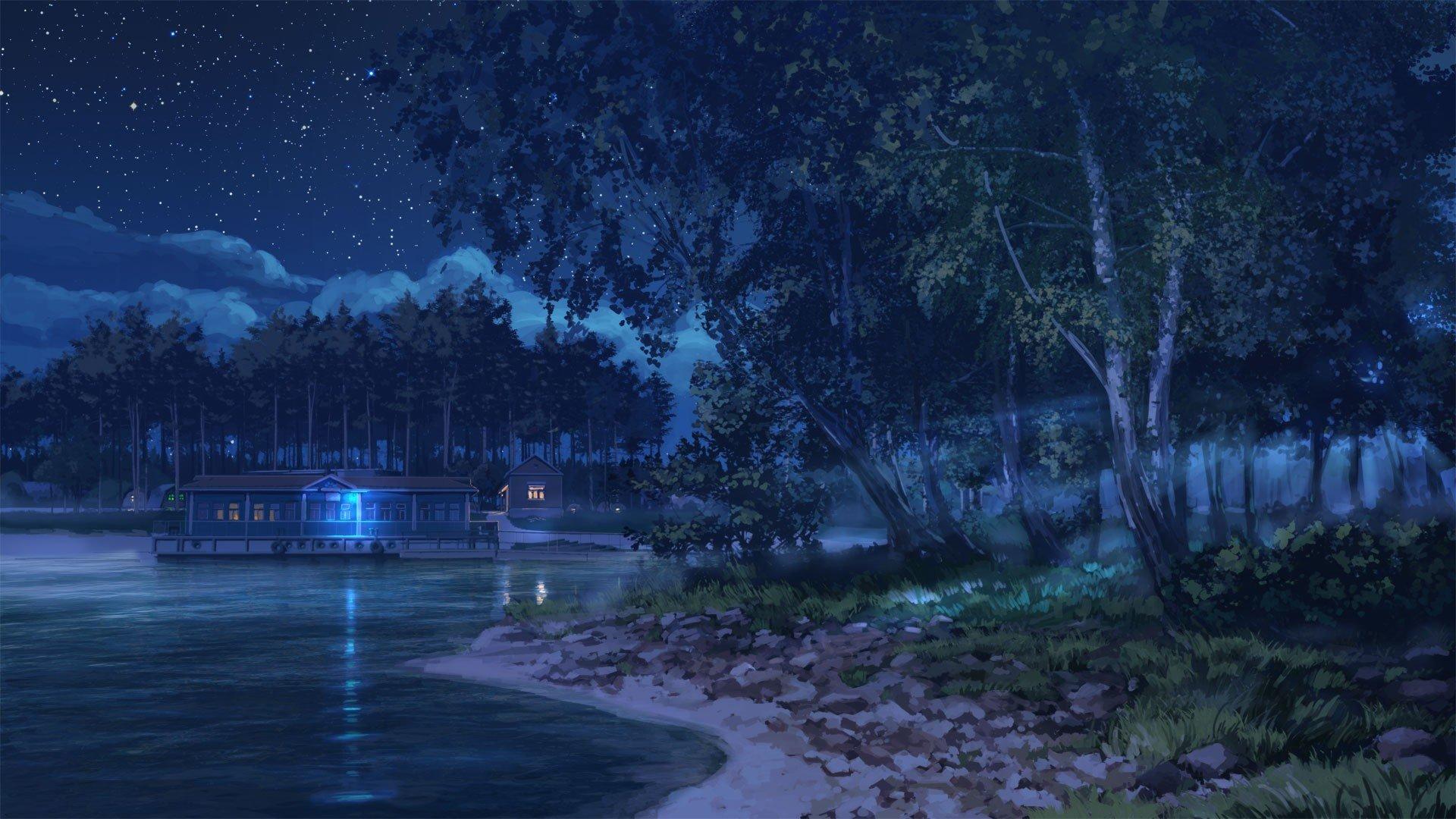 everlasting summer starry night arsenixc hd wallpapers desktop