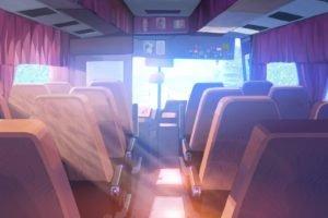 buses, Sunlight, Everlasting Summer