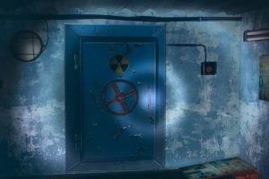 radioactive, Red, Flashlight, Everlasting Summer, Blast doors