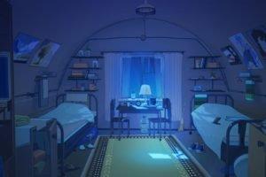 Everlasting Summer, Bedroom, Night