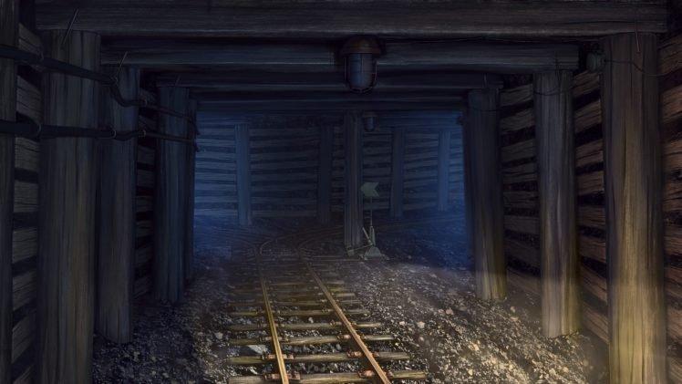 mine shaft wallpaper - photo #11