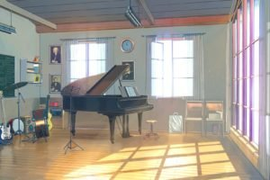 Everlasting Summer, Piano, Clocks, Guitar, Drums, ArseniXC, Sunlight, Musical instrument