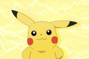 Pokemon, Electricity, Pikachu, Yellow
