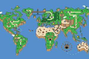 Nintendo, Super Mario, Fan art
