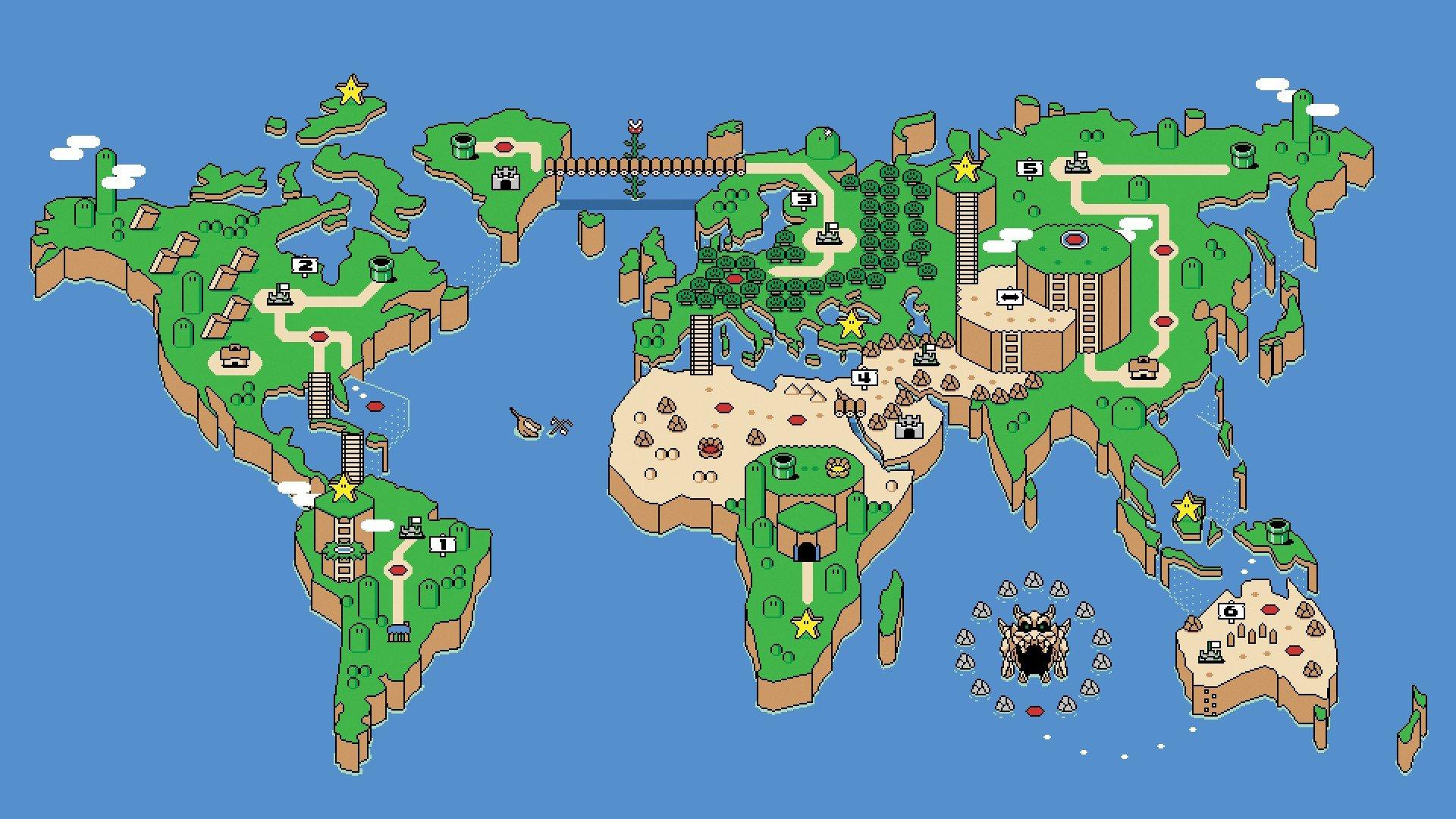 Nintendo Super Mario Fan Art Hd Wallpapers Desktop And Mobile Images Photos