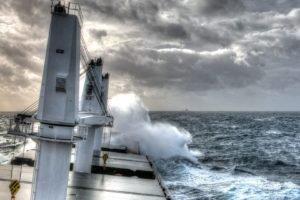 HDR, Ship, Storm