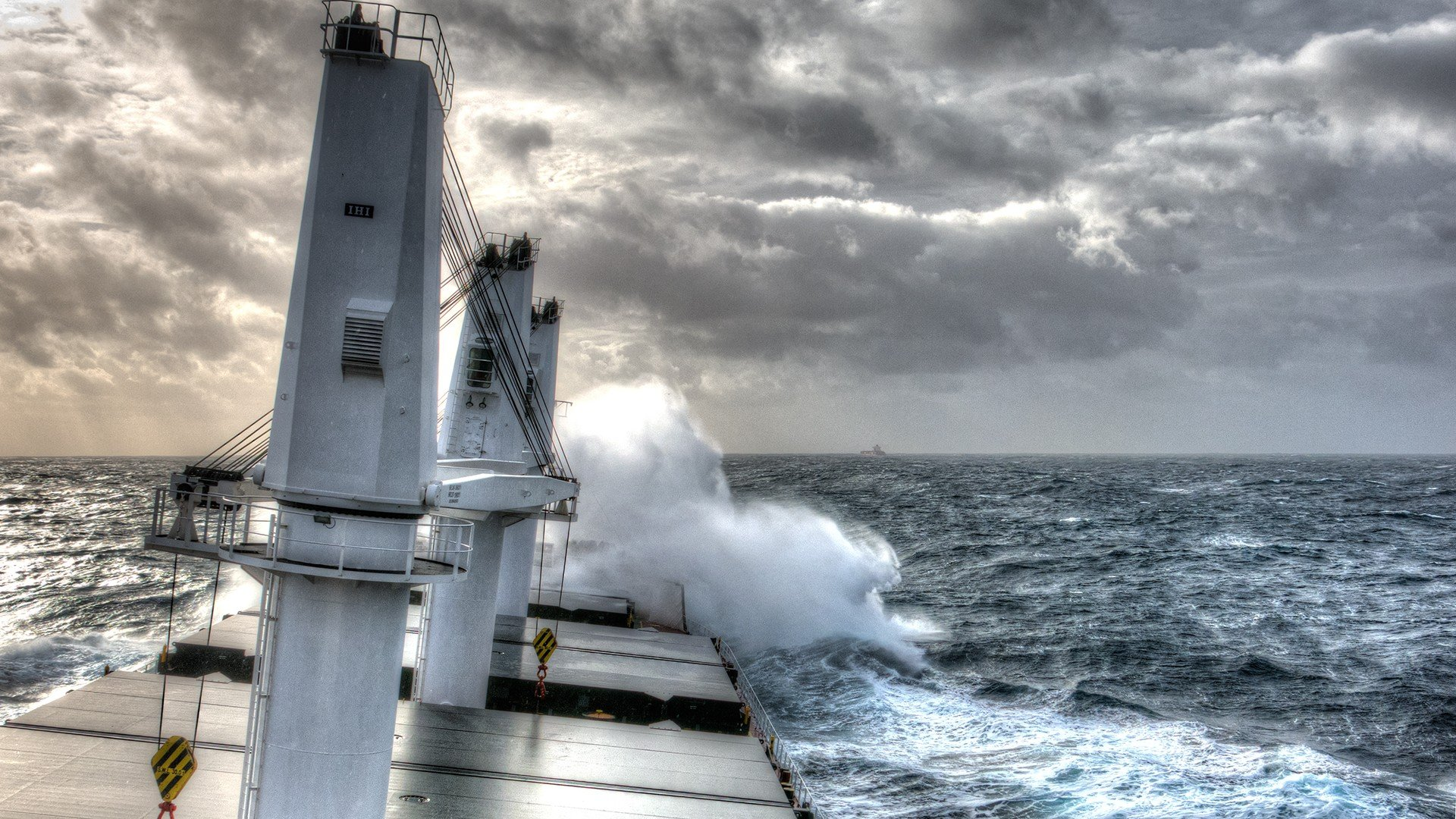 hdr ship storm hd wallpapers desktop and mobile images