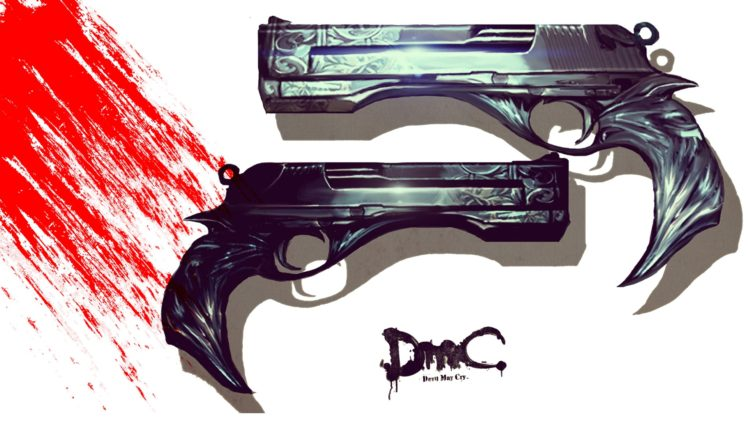 Dante devil may cry pistol hd wallpapers desktop and mobile dante devil may cry pistol hd wallpaper desktop background voltagebd Image collections