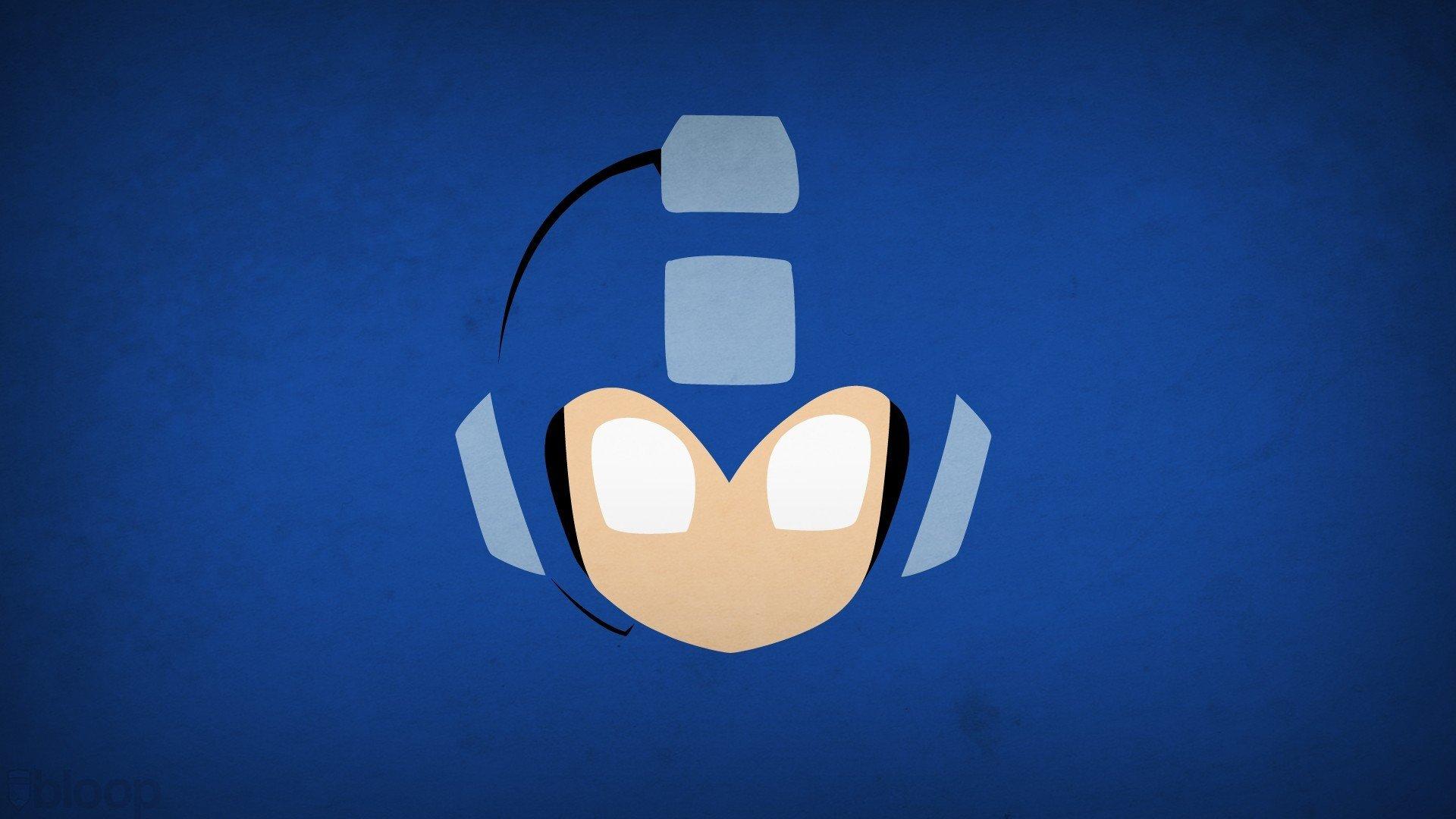 Mega Man Blo0p Minimalism Hd Wallpapers Desktop And Mobile Images Photos