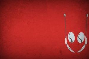 Ant Man, Blo0p, Minimalism, Red background