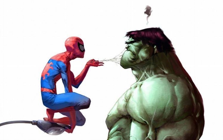 Hulk Spider Man Hd Wallpapers Desktop And Mobile Images Photos