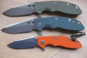 xm 18, Hinderer, Knife