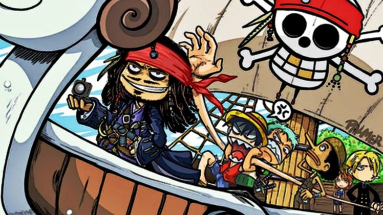 One Piece, Crossover HD Wallpaper Desktop Background