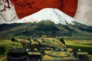 STB 1, Wargaming, Mountain, Japan