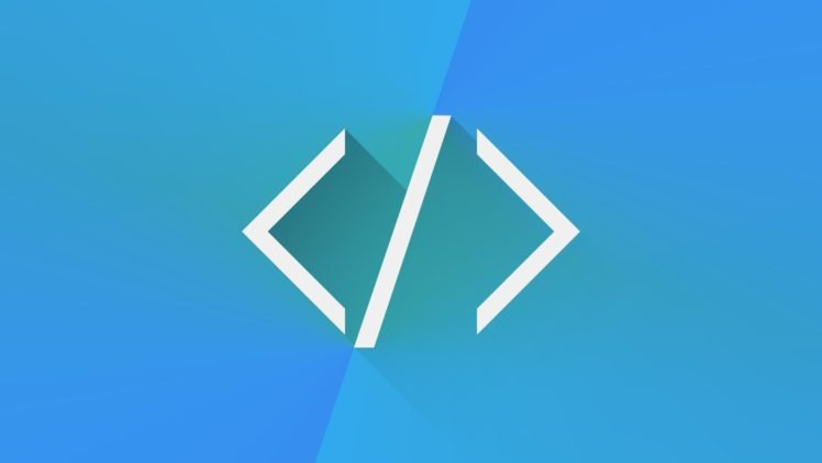 HTML Programming Code Blue Simplicity HD Wallpaper Desktop Background