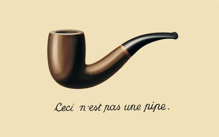 pipes, René Magritte, Painting, Minimalism HD Wallpaper Desktop Background