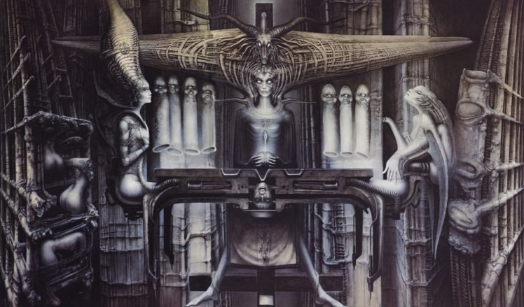 H. R. Giger HD Wallpaper Desktop Background