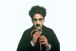 Charlie Chaplin, The Tramp, Robert Downey Jr.