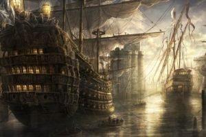 ship, Sailing ship