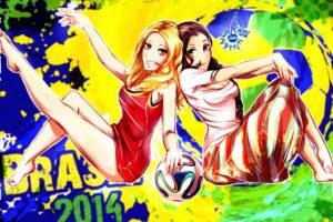 world cup girls, Belgium, Algeria